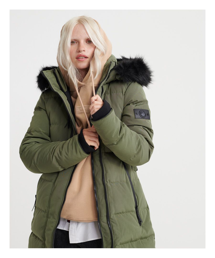 Image for Superdry Premium Down Peak Jacket