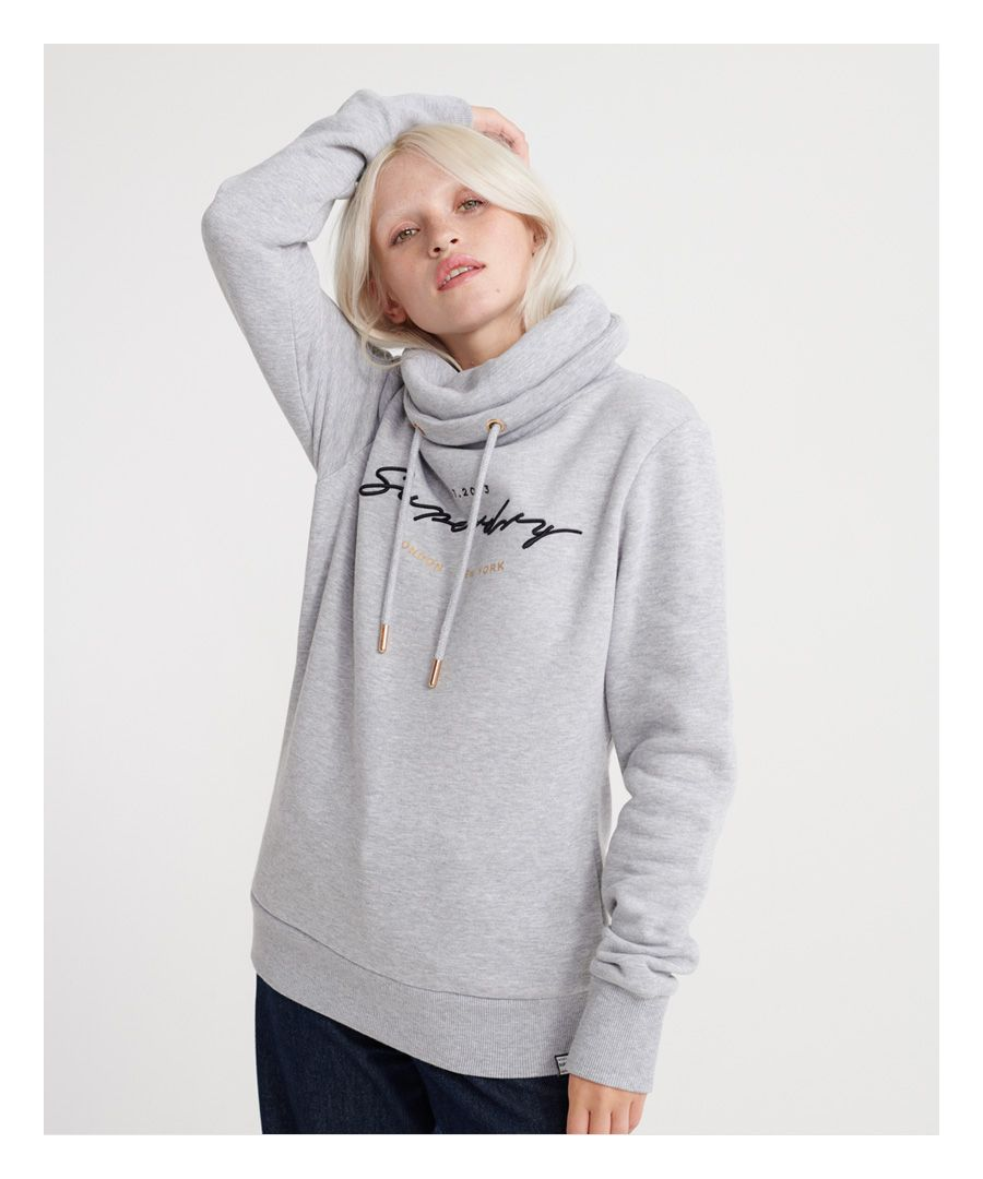 Image for Superdry Applique Funnel Hoodie