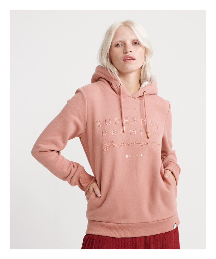 Image for Superdry Applique Hoodie