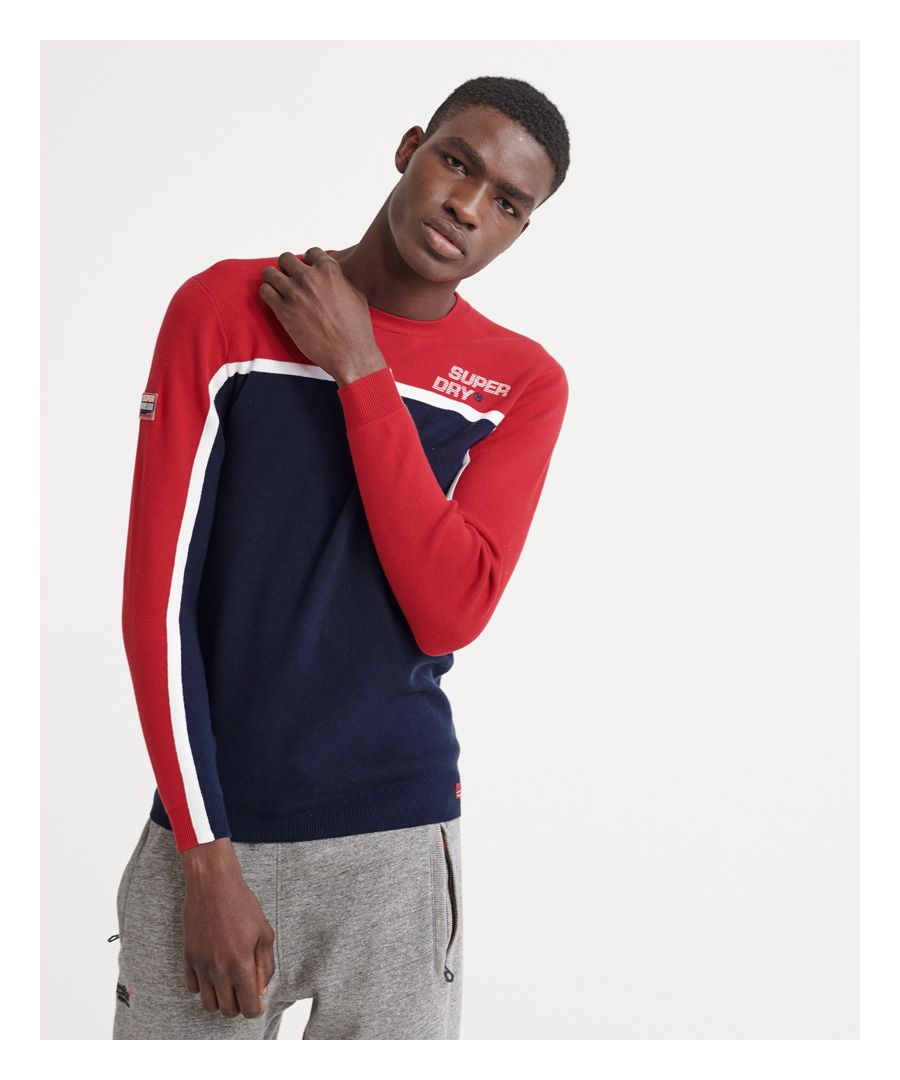 Image for Superdry Downhill Slalom Crew Neck Jumper