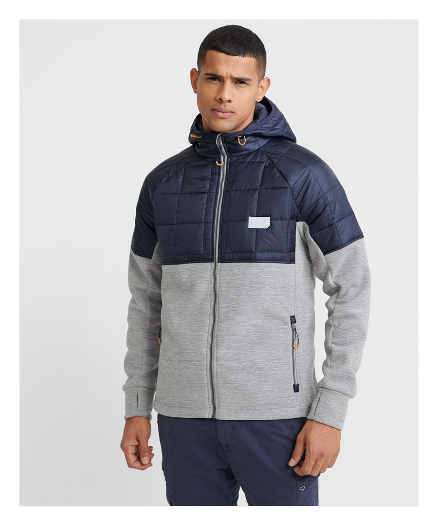 Image for Superdry Polar Fleece Hybrid Jacket