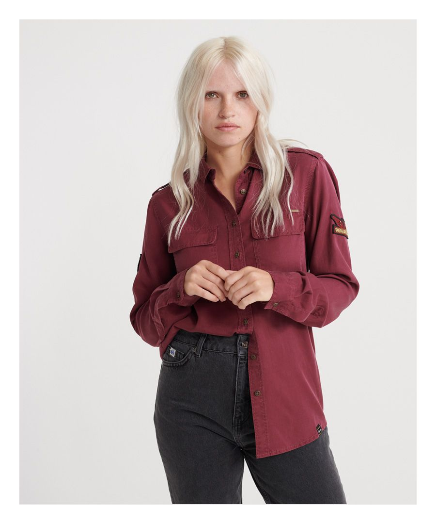 Image for Superdry Harlowe Military Shirt