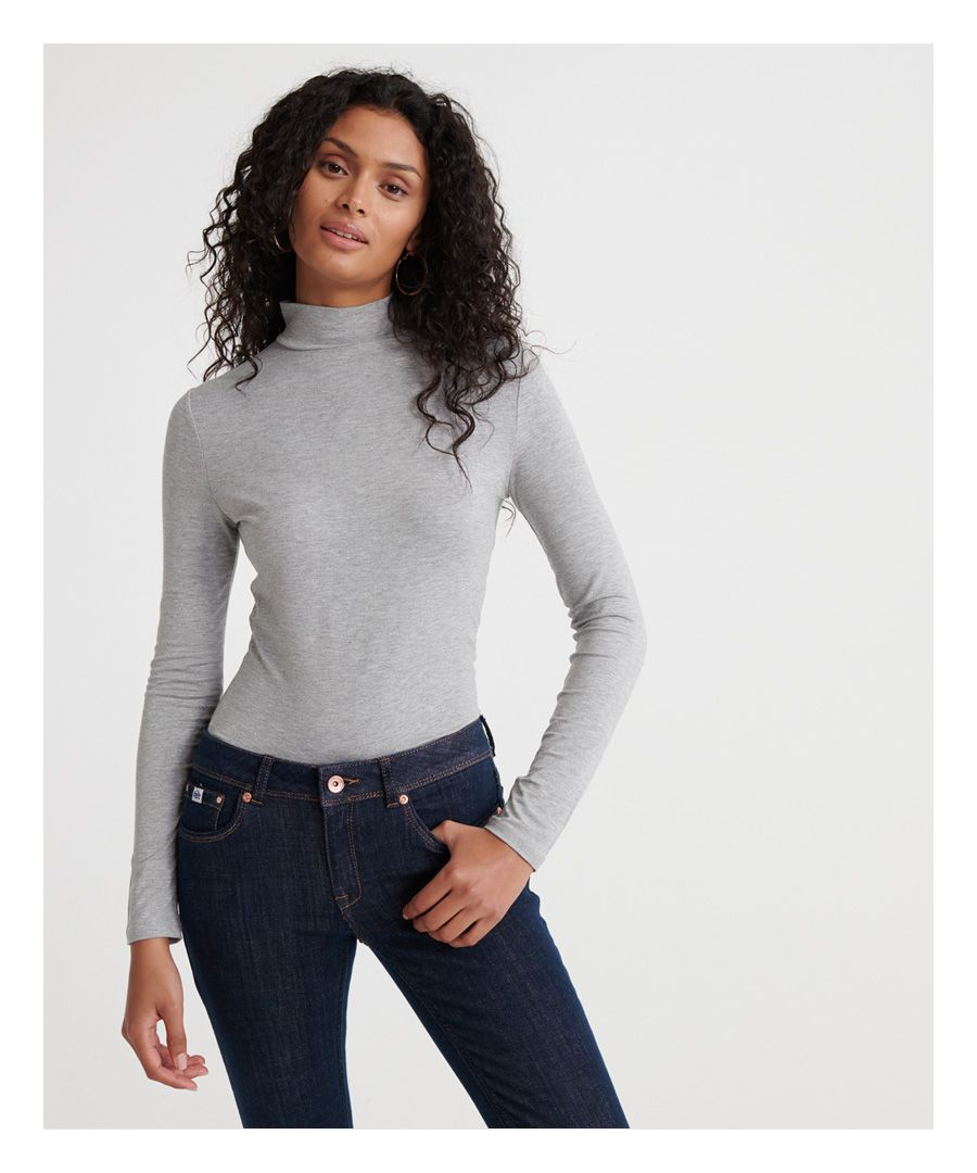 Image for Superdry High Neck Essential Top