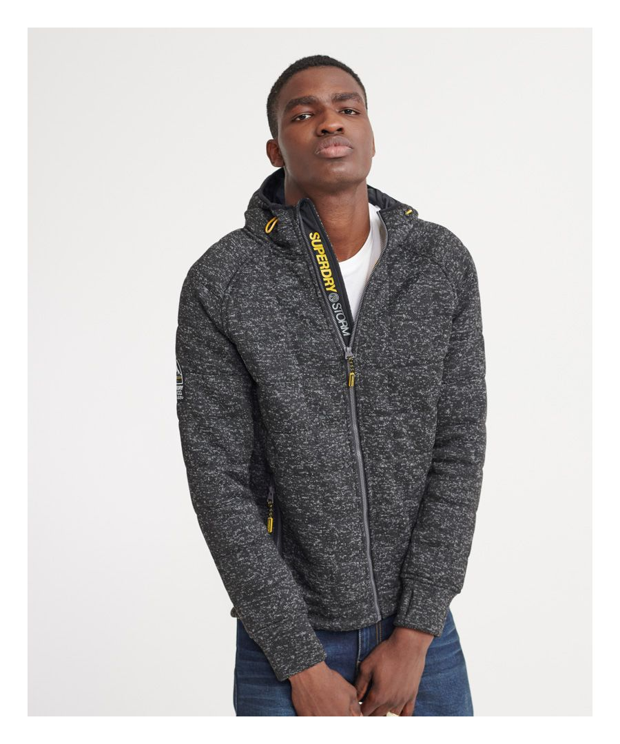 Image for Superdry Storm Quilted Zip Hoodie