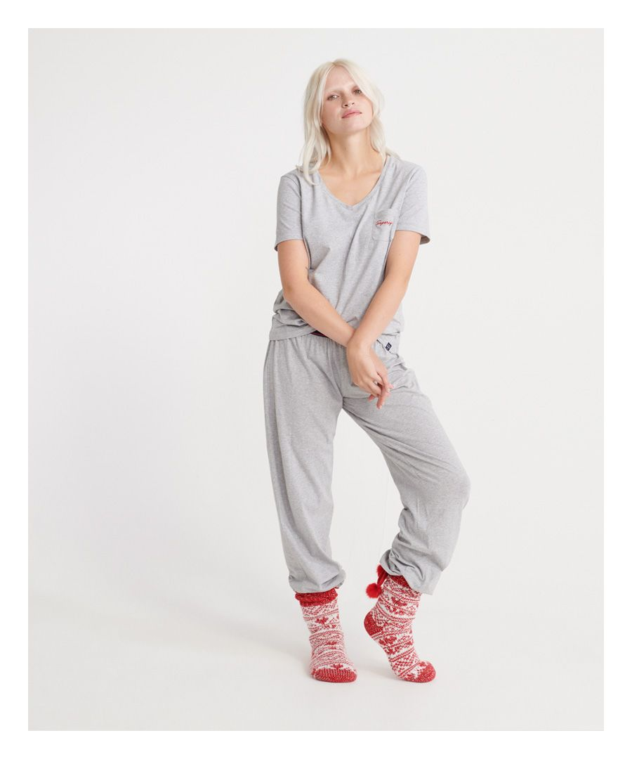 Image for Superdry Loungewear Organic Cotton Set