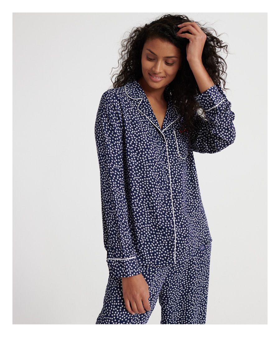 Image for Superdry Weekender Luxe PJ Shirt