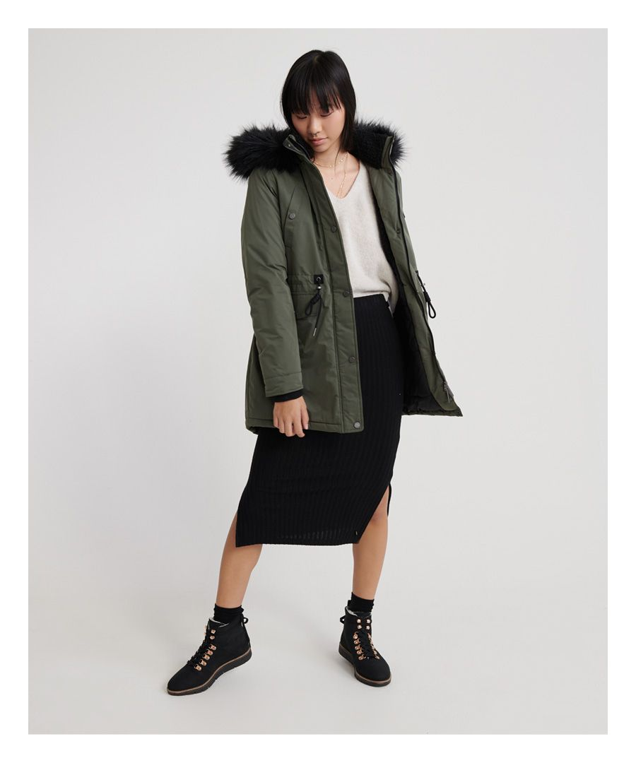 Image for Superdry Nadare Microfibre Parka
