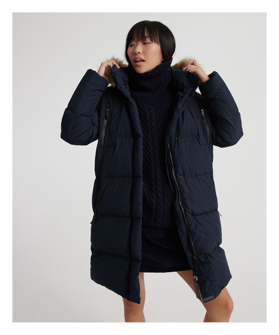 Image for Superdry Premium Down Louisa Coat