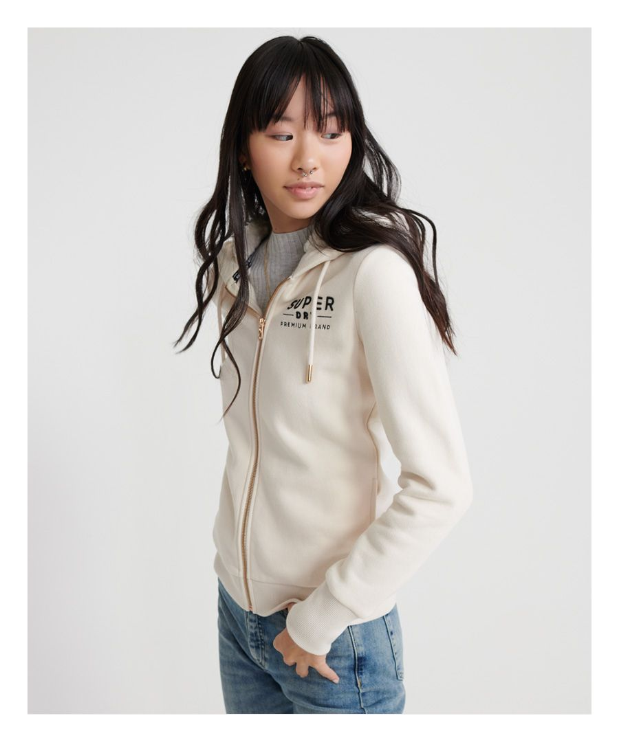 Image for Superdry Applique zip Hoodie
