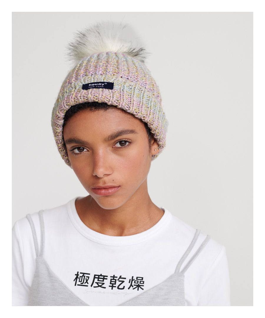 Image for Superdry Sparkle Ombre Beanie