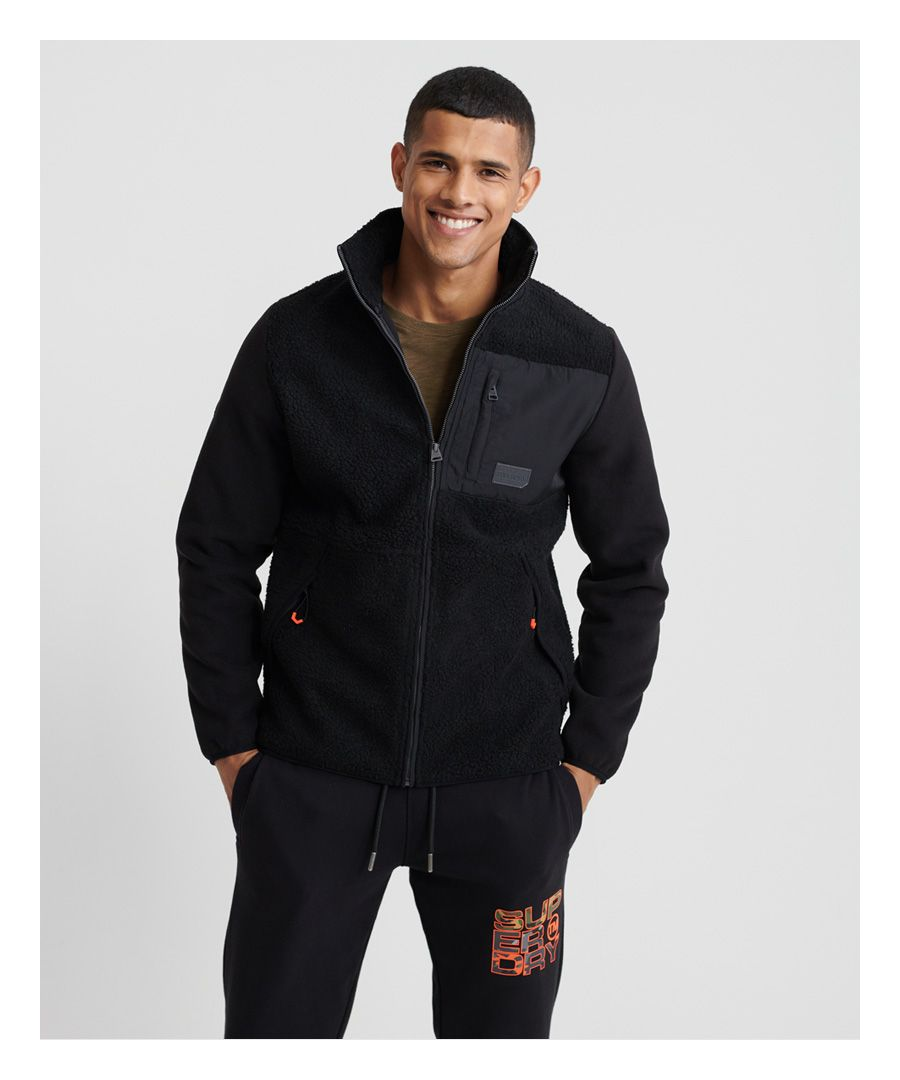 Image for Superdry Sherpa Desert Modern Zip Through Jacket