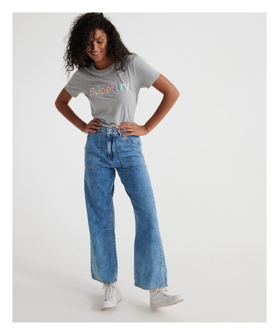 Image for Superdry Frankie Wide Leg Jeans