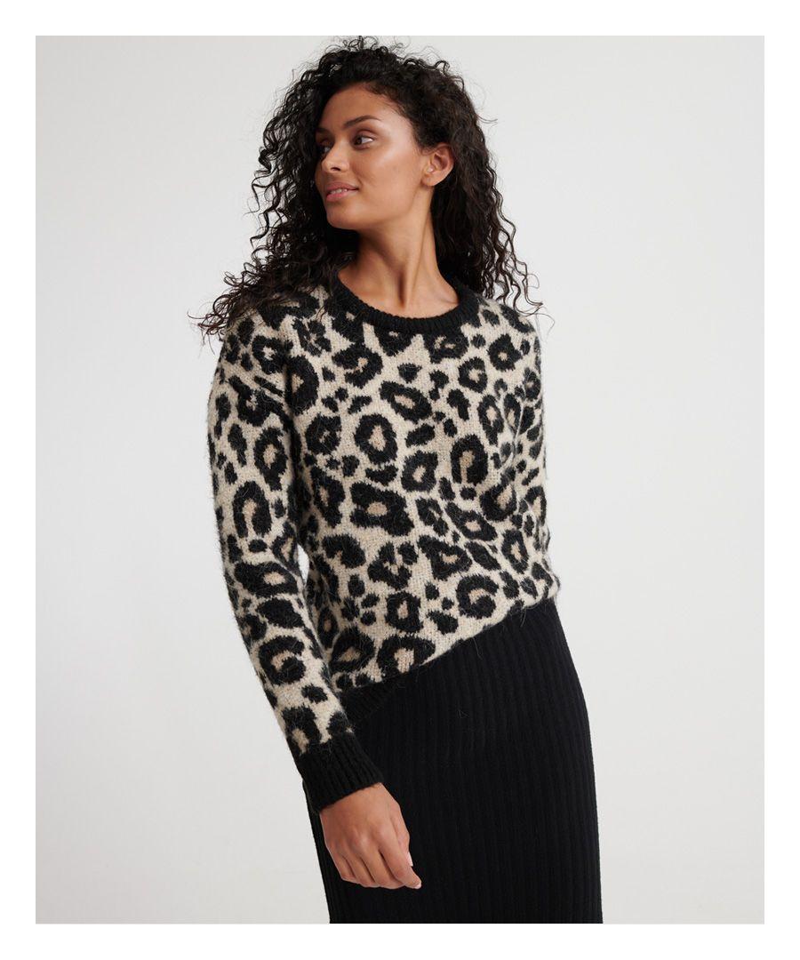 Image for Superdry Lisa Leopard Jumper