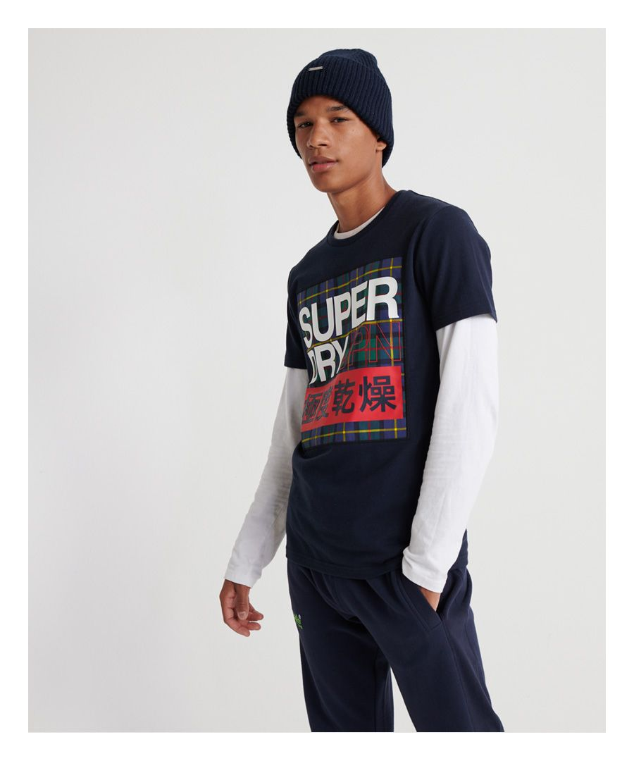 Image for Superdry Crafted Check T-Shirt