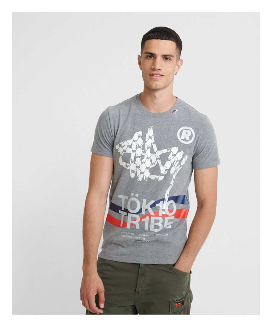 Image for Superdry Tok1o Tribe T-Shirt