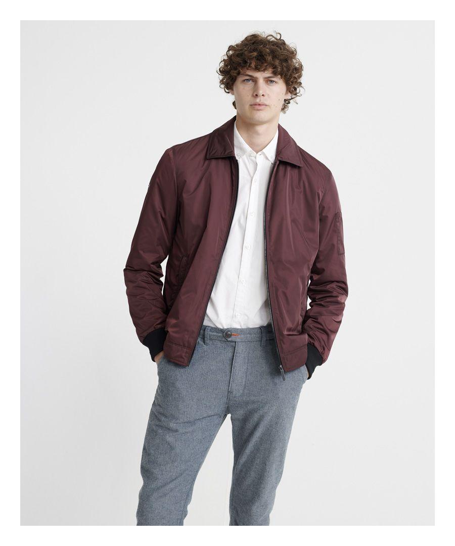 Image for Superdry Edit Collared Harrington Jacket