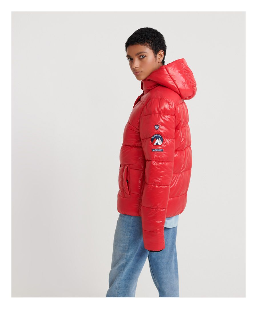 Image for Superdry High Shine Toya Puffer Jacket