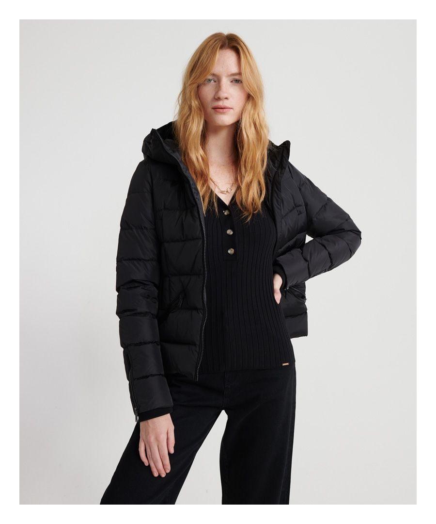Image for Superdry Premium Down Luxury Quilted Jacket