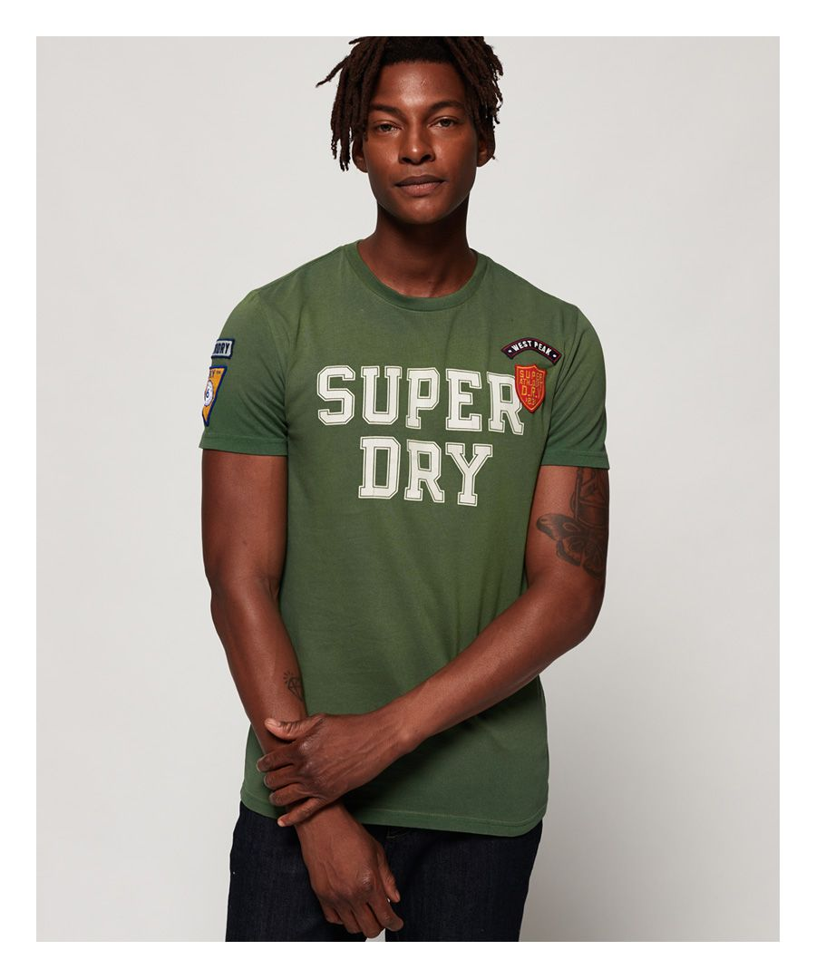 Image for Superdry Upstate Wash Short Sleeve T-Shirt