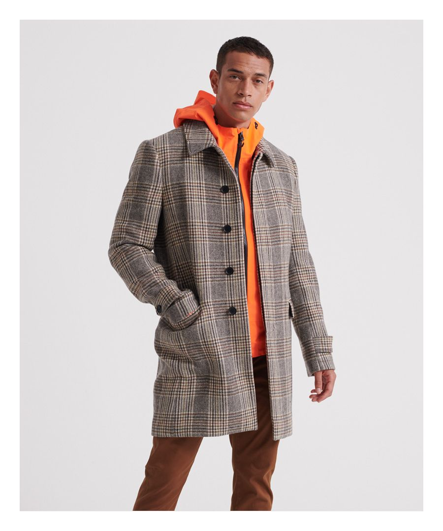 Image for Superdry Edit Wool Car Coat
