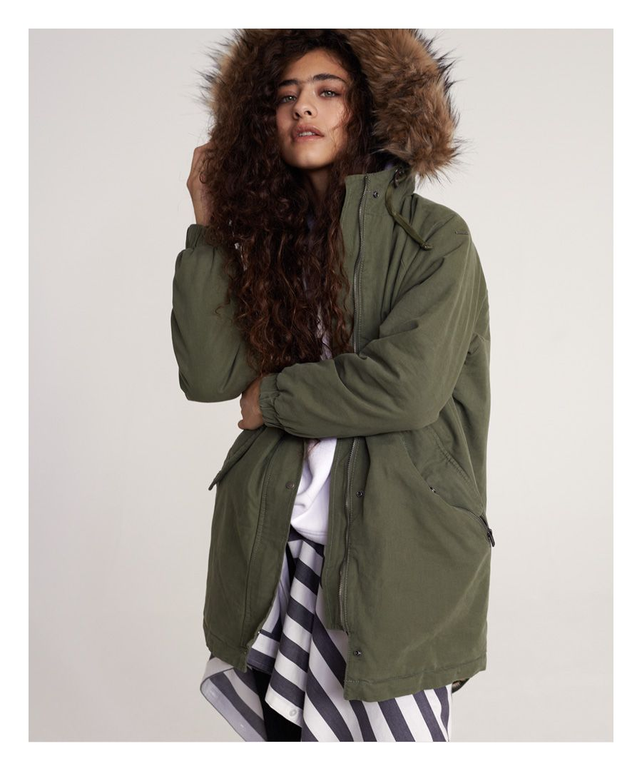 Image for Superdry Lucy Rookie Parka Jacket