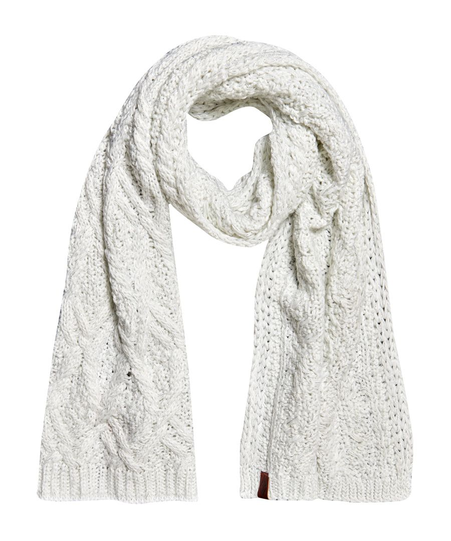 Image for Superdry Nebraska Cable Scarf
