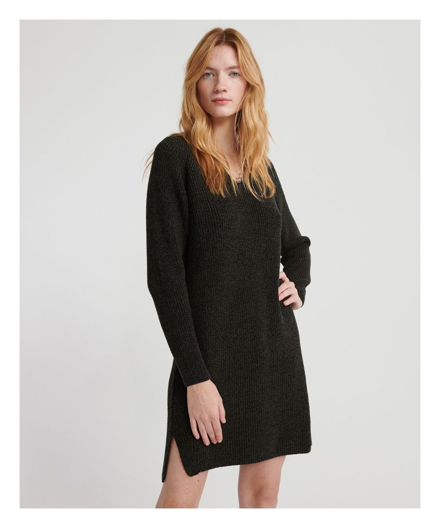 Image for Superdry Marissa V-Neck Knit Dress