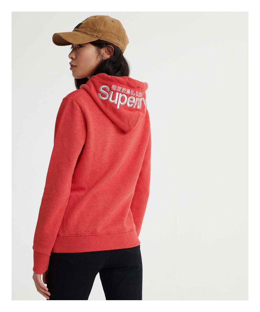 Image for Superdry Modern Coral Label Hit Hoodie