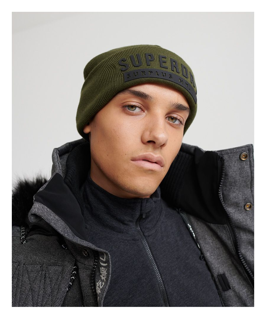 Image for Superdry Surplus Silicone Beanie