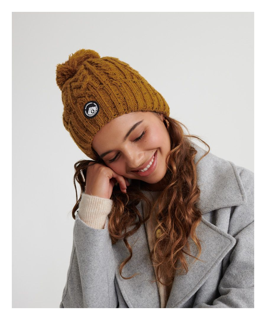 Image for Superdry Gracie Cable Beanie