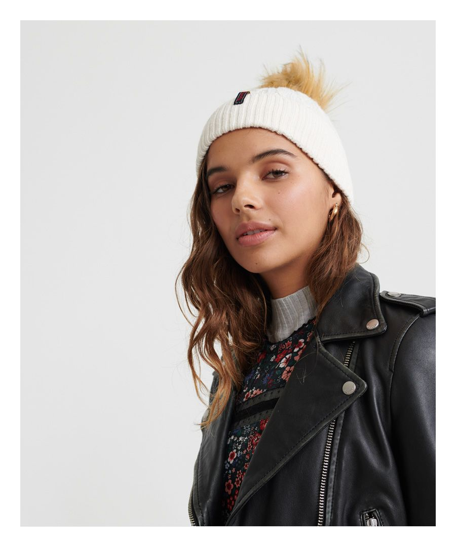 Image for Superdry Lannah Cable Beanie