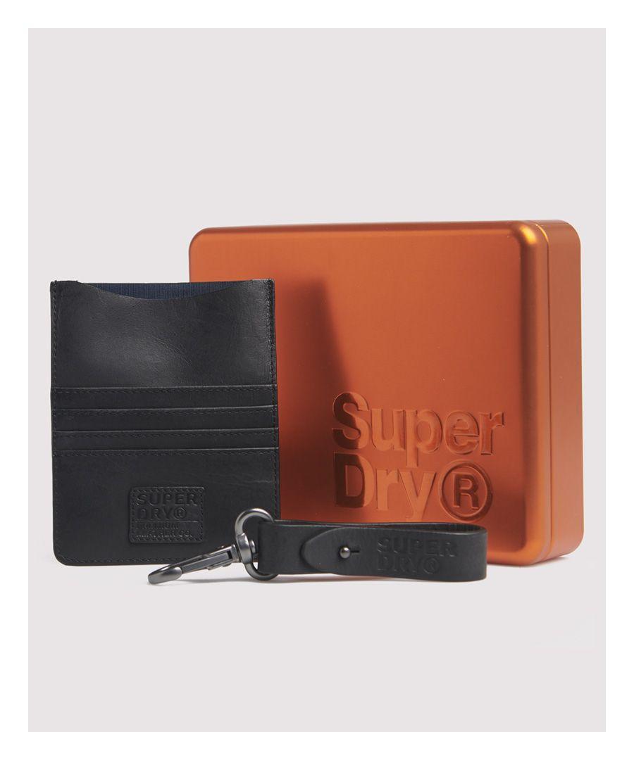 Image for Superdry Leather Travel Wallet Set