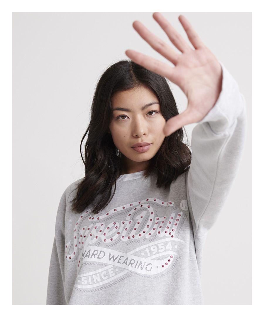 Image for Superdry Hard Wearing Boutique Crew Sweatshirt