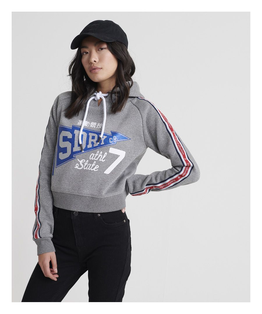 Image for Superdry Flying Boutique Crop Hoodie