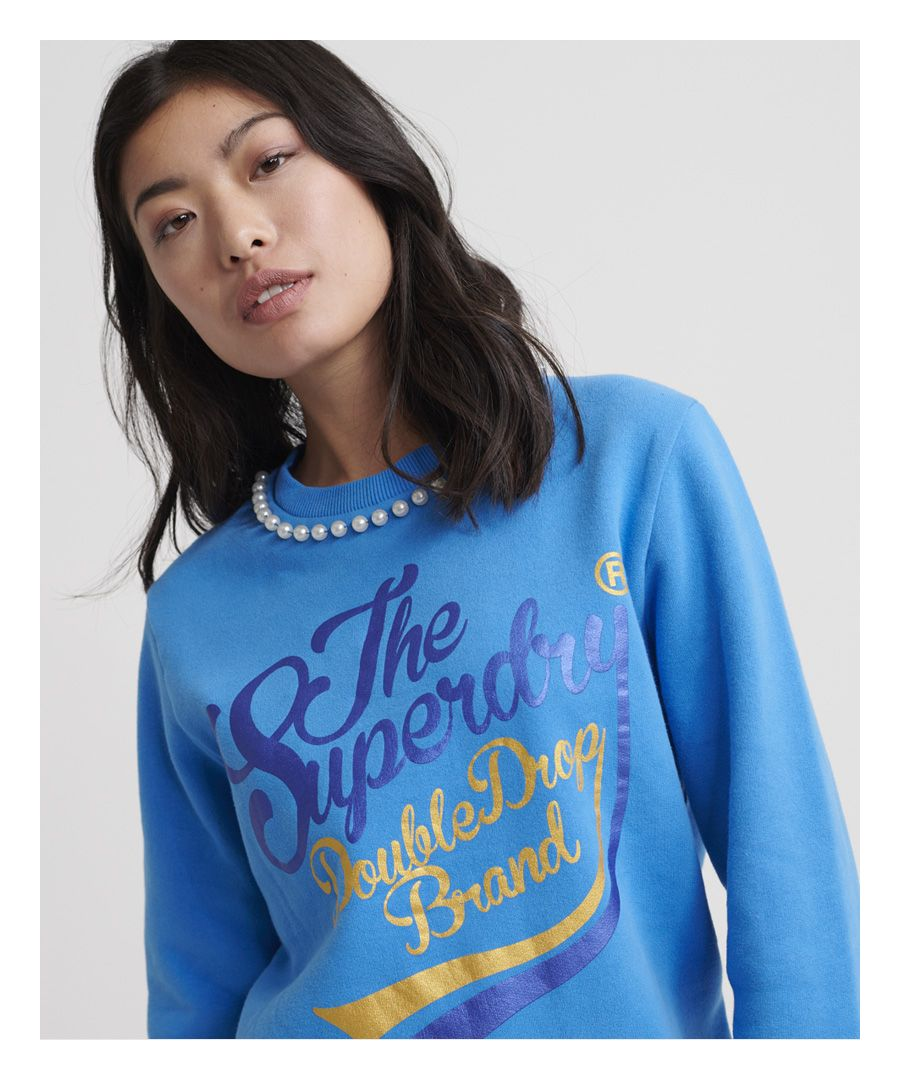 Image for Superdry Boutique Double Drop Classic Crew Sweatshirt