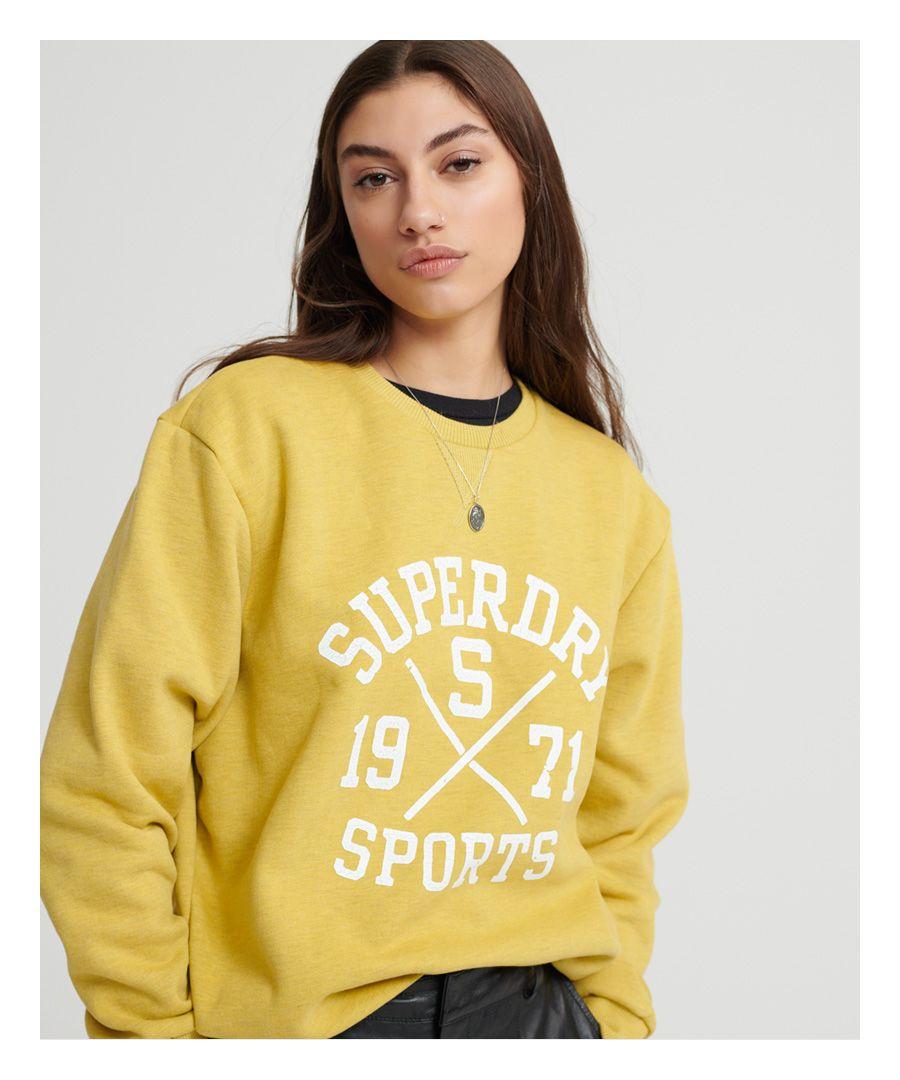 Image for Superdry Classic Varsity Crew Sweatshirt