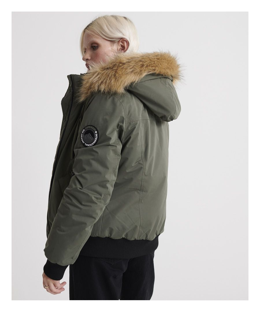 Image for Superdry Microfibre Bomber Jacket