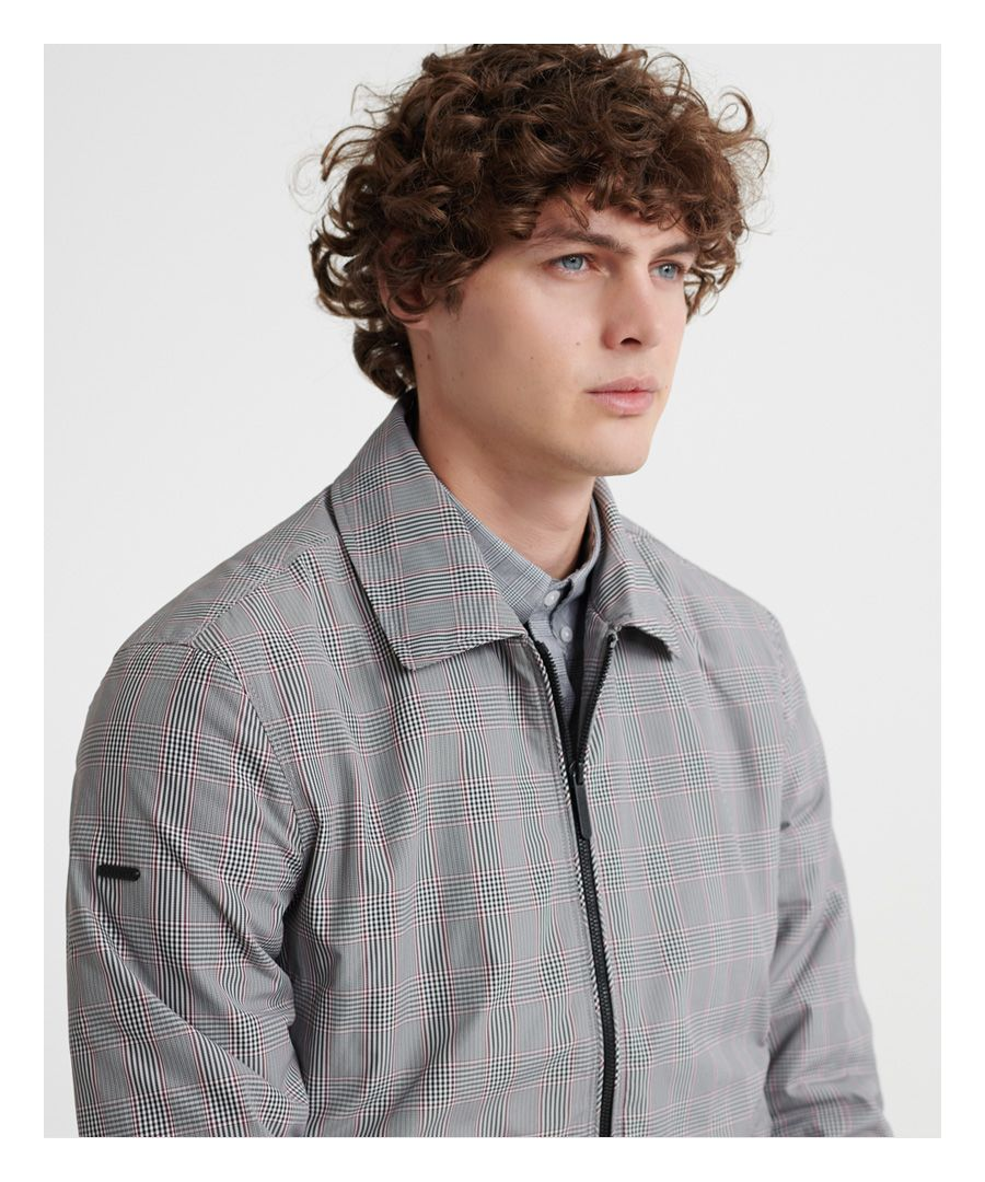 Image for Superdry Edit Collared Harrington Jacket