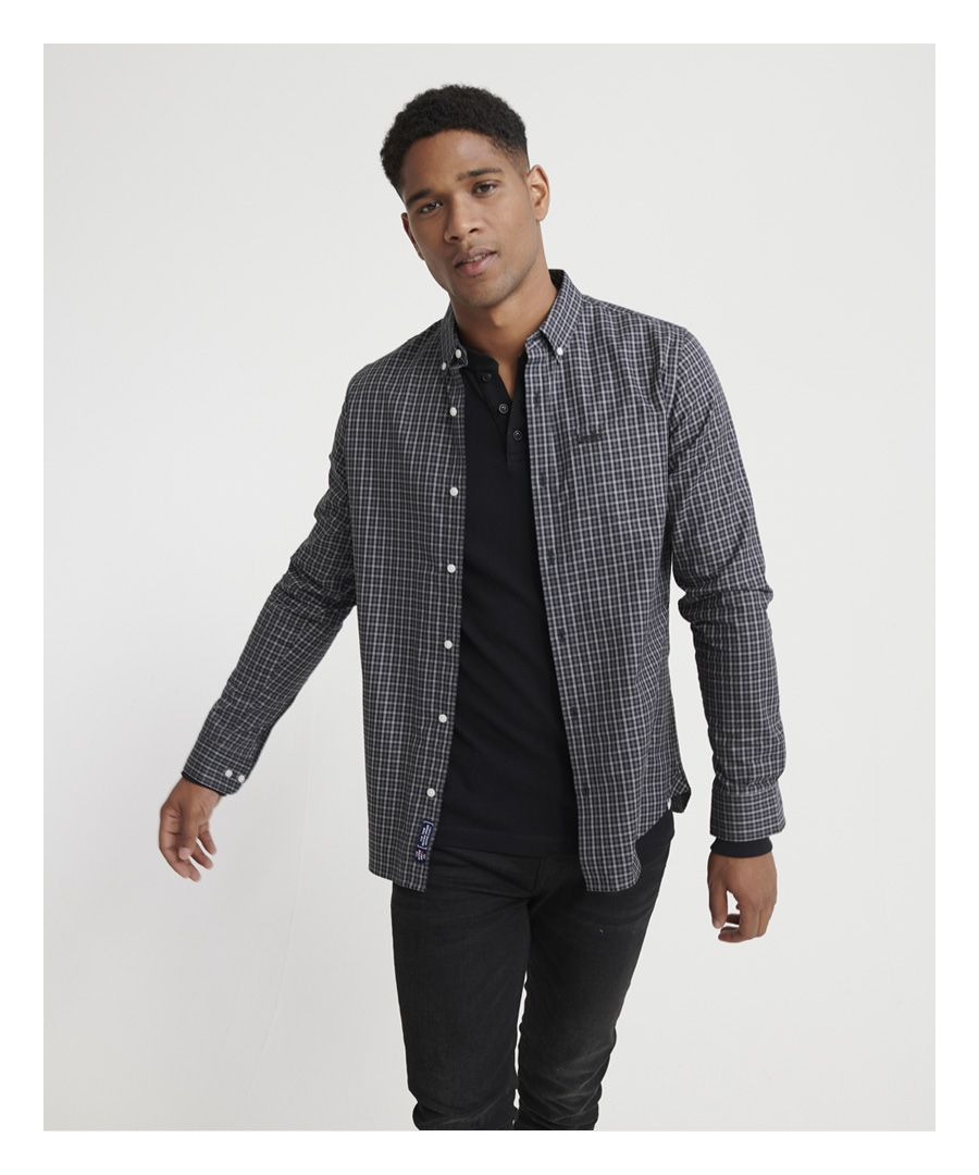 Image for Superdry Classic London Long Sleeved Shirt