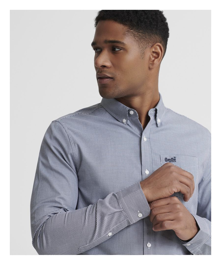 Image for Superdry Classic London Long Sleeve Shirt