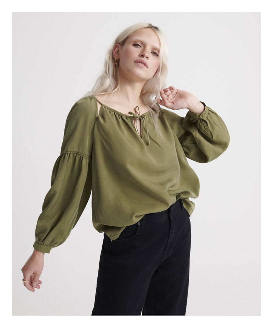 Image for Superdry Arizona Peek A Boo Top