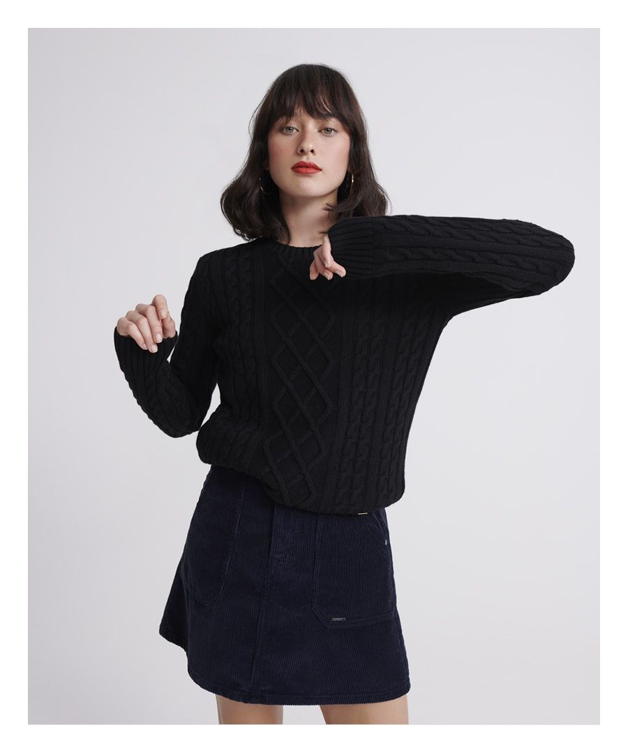 Image for Superdry Amelia Premium Cable Knit Jumper