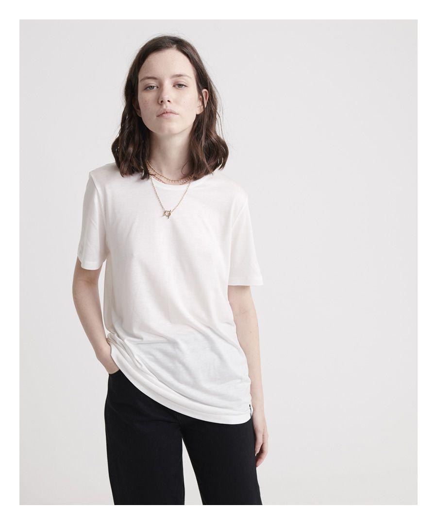 Image for Superdry Edit Tencel Crew Neck T-Shirt