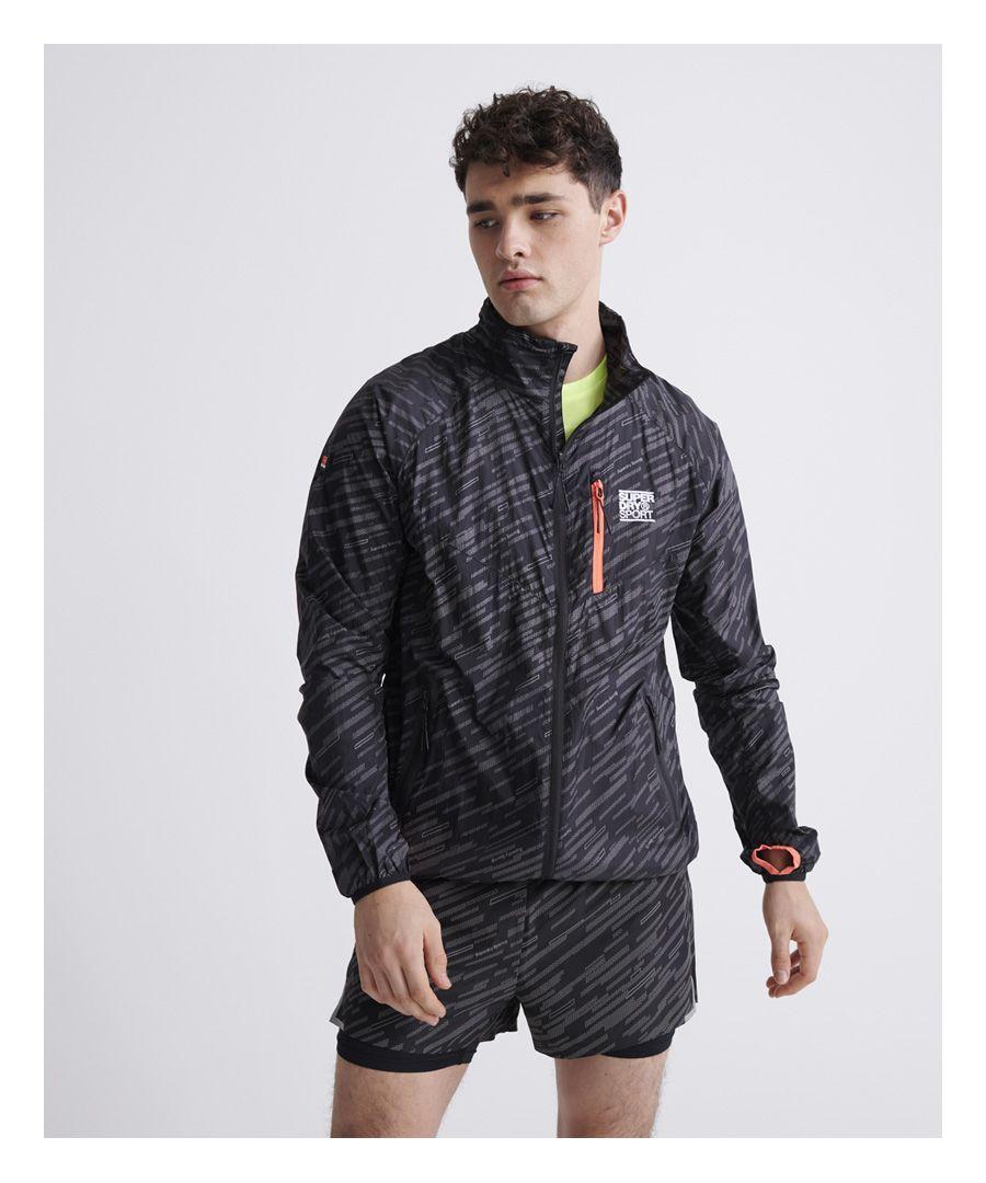 Image for Superdry Training Lightweight Reflective Jacket