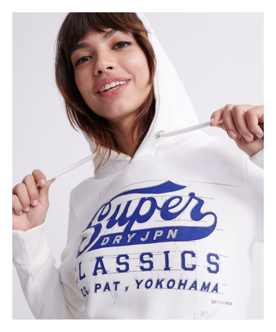 Image for Superdry Blue Print Hoodie