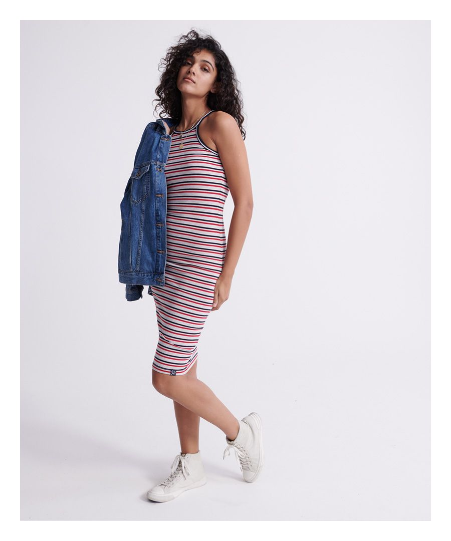 Image for Superdry Tiana Graphic Midi Dress