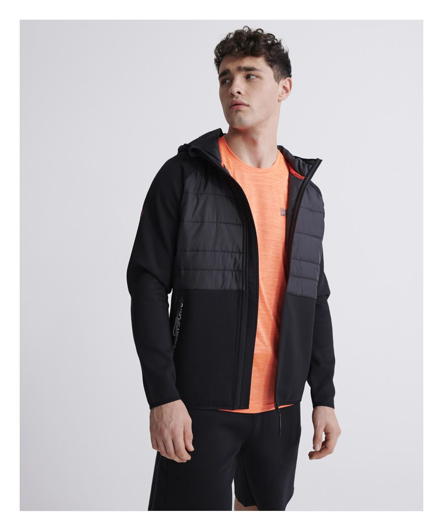 Image for Superdry Gymtech Hybrid Jacket
