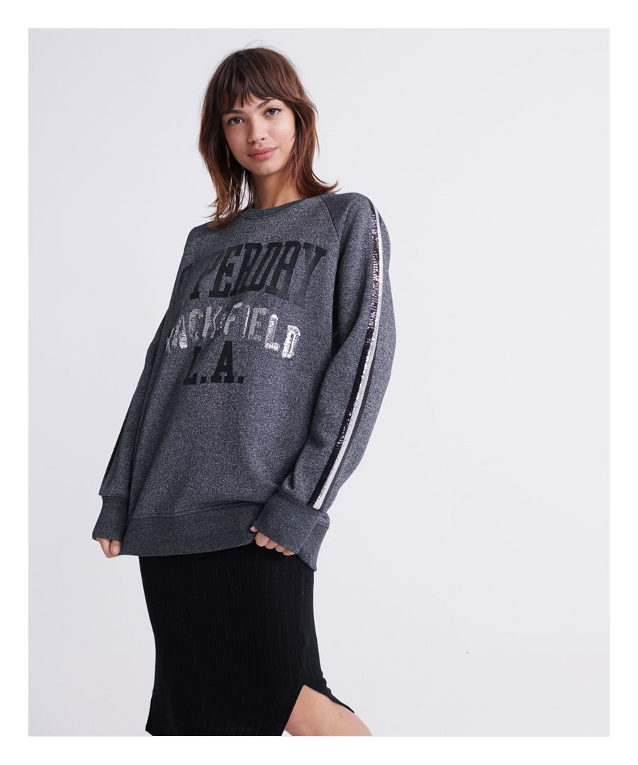 Image for Superdry LA Track Boutique Crew Sweatshirt