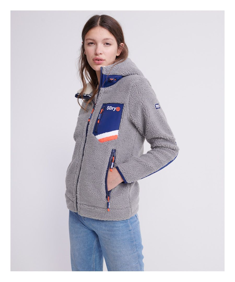 Image for Superdry Celsius Sherpa Track Hoodie