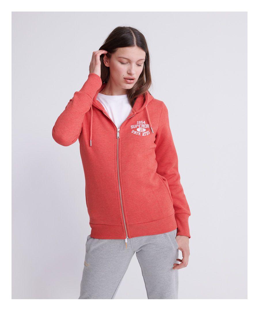 Image for Superdry Classic Varsity Zip Hoodie